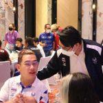 ดร.ก้องศักด ยอดมณี ผู้ว่าการ กกท. เข้าร่วมงานเลี้ยงต้อนรับและขอบคุณคณะนักกีฬาพาราลิมปิกทีมชาติไทย โดยสมาคมกีฬาคนพิการทางปัญญาแห่งประเทศไทย – ข่าวกีฬา