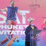 รองยุทธศาสตร์ฯ กกท. เปิดการแข่งขัน เอส เอ ที ภูเก็ต อินวิเทชัน 2021 (SAT PHUKET INVITATION 2021) – ข่าวกีฬา